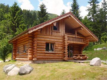 Wood cabins